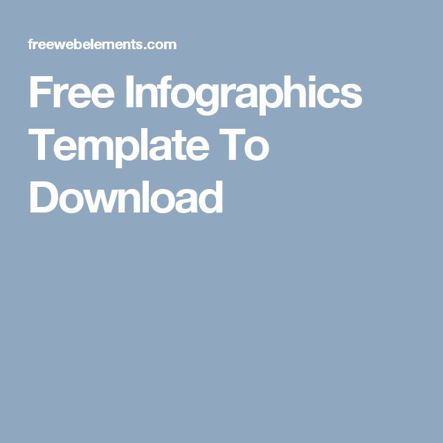 Free Infographics Template To Download