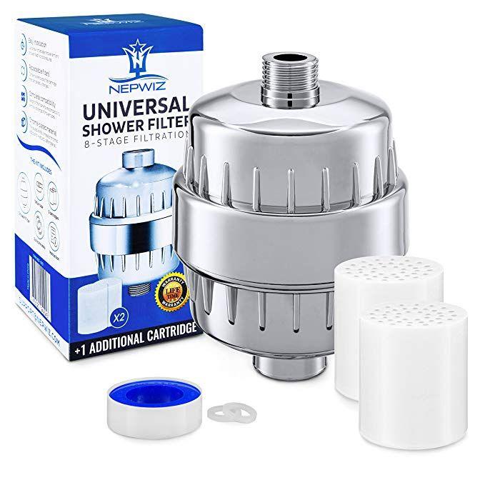 Water Softener Shower Filter Hard Water Filter W 2 Cartridges