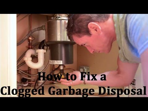How to Fix a Clogged Garbage Disposal w/ @myfixituplife Hint: This is a big holiday issue. Be prepared! #holiday #garbagedisposal #howto #thanksgiving #christmas