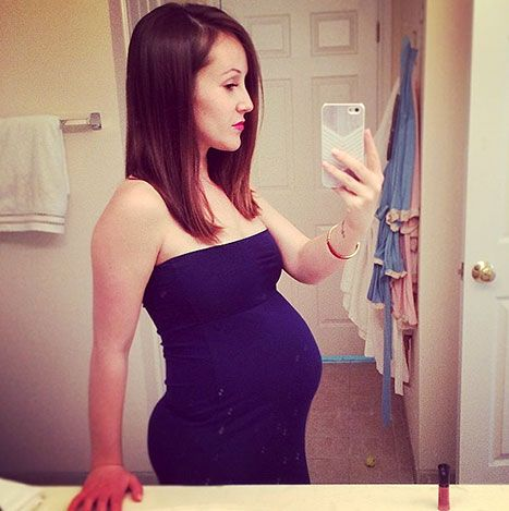 """Ashley Hebert Posts Baby Bump """"Vogue Pose"""" at 25 Weeks: Picture - Us Weekly"""