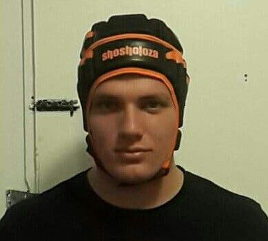 Shosholoza rugby headgear