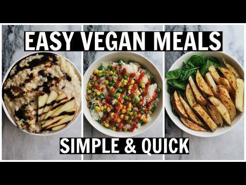 1) apple spice oatmeal 2) veggies, rice, and sriracha 3) baked potatoes (35 min at 400) w/ greens