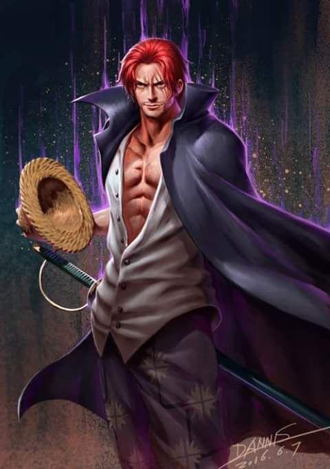 One Piece  -  Shanks #OnePiece