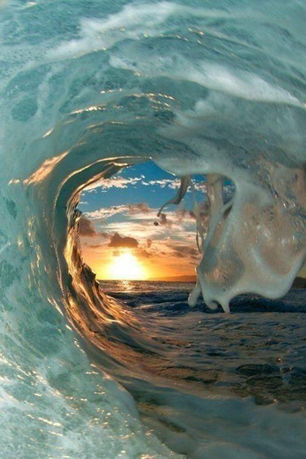 La vue parmi les ondes
