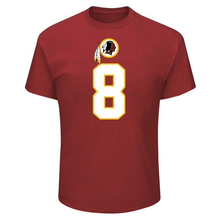 T-Shirt Washington Redskins Team Color Xxl, Men's, Multicolored