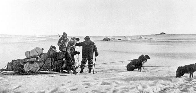 Who Discovered the North Pole?  A century ago, explorer Robert Peary earned fame for discovering the North Pole, but did Frederick Cook get there first? Frederick Cook and Robert Peary