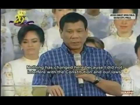 Mayor Rodrigo Duterte Presidential Platform 2016