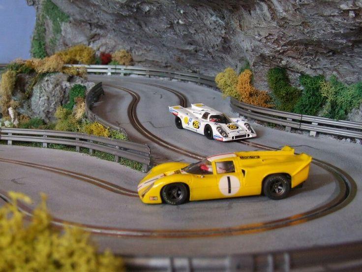 546 best slot car traks images on pinterest slot cars. Black Bedroom Furniture Sets. Home Design Ideas