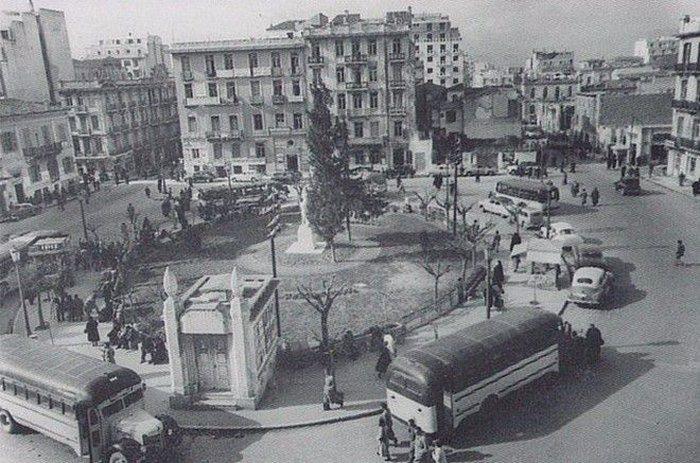 Πλατεία Κάνιγγος 1954