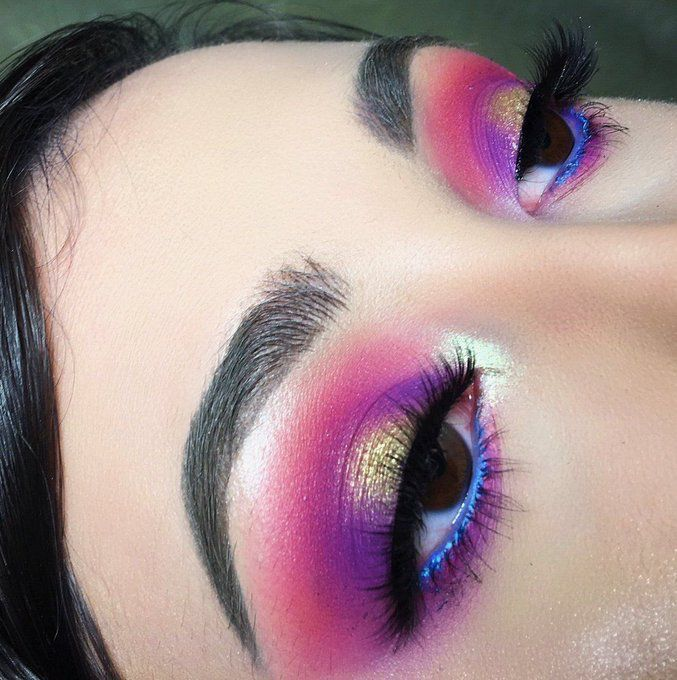Gxldluxe Makeup In 2019 Eye Makeup Tips Colorful