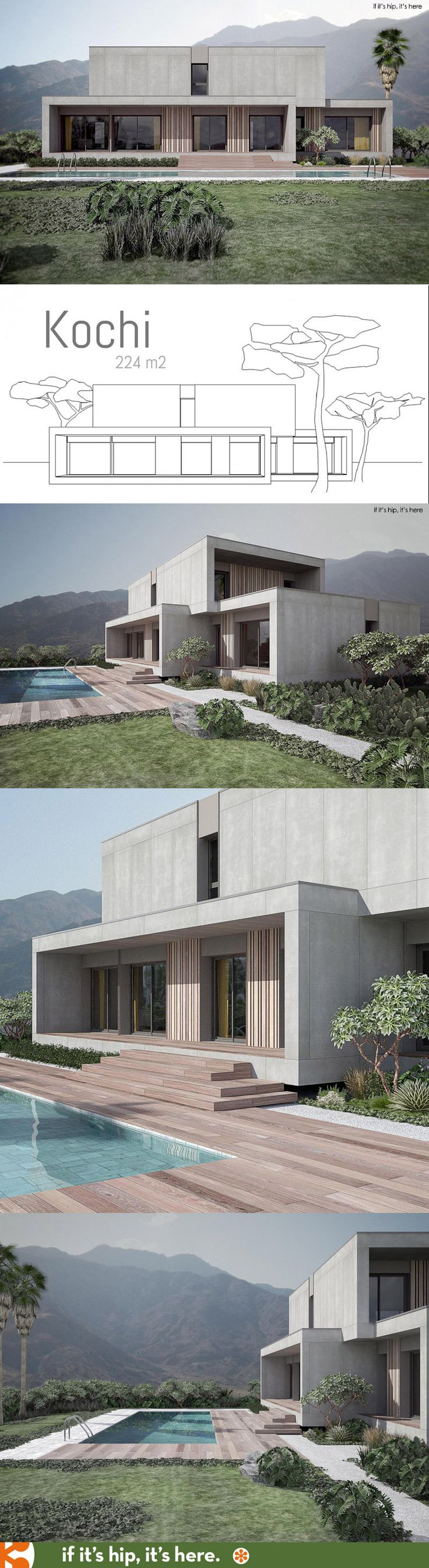 ^ 1000+ images about House exterior-rendering-floor plans ...