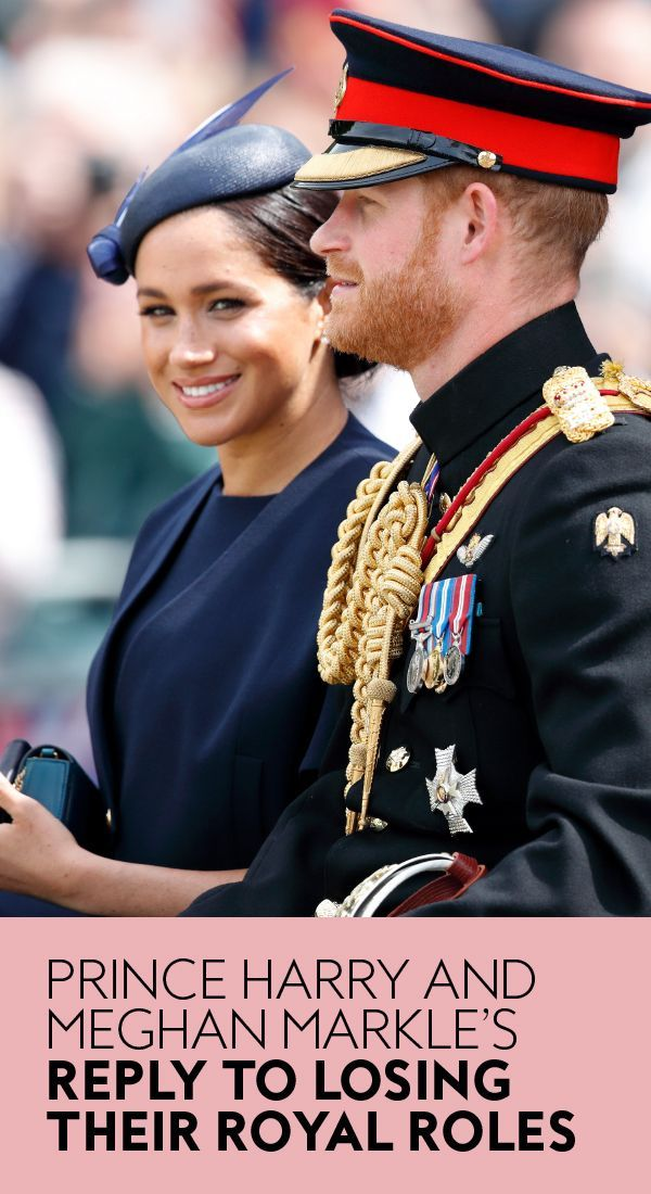 Prince Harry And Meghan Markle Respond After The Queen Strips Their Royal Roles In 2021 Harry And Meghan News Prince Harry And Meghan Harry And Meghan