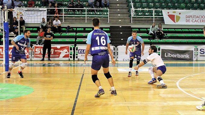 Penúltima jornada de la competición regular de esta Superliga Masculina 2016/2017 entre el Electrocash Extremadura y CAI Teruel.