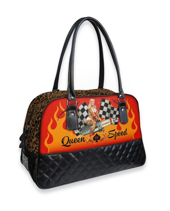 Liquorbrand Queen of Speed overnight bag – Moxie Mama Wear