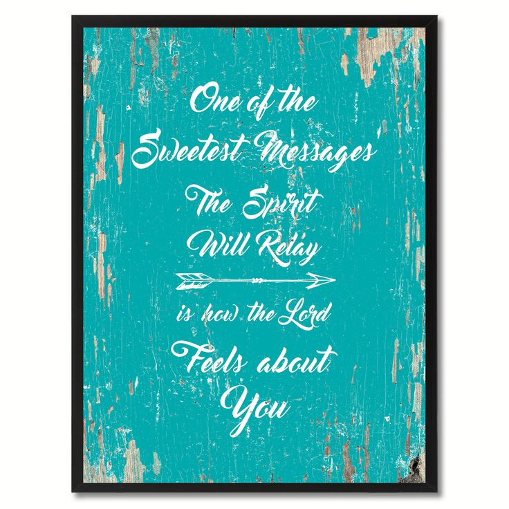 One of the Sweetest Messages Religious Quote Saying Gift Ideas Home Décor Wall Art