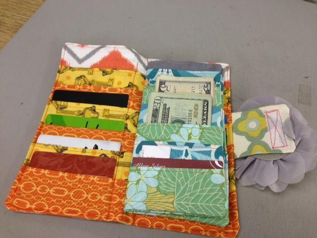 Credit Card Wallet Tutorial – Fabric – Handcock's