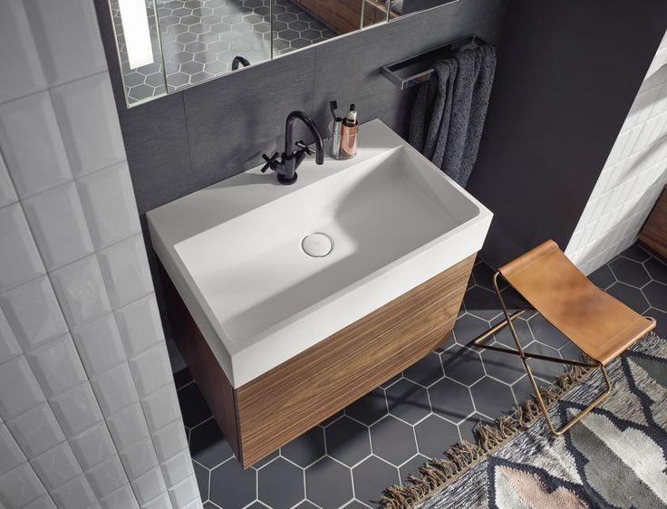 Die besten 25 badezimmer wasserhahn ideen auf pinterest wc fliesen wei e fliesen und - Gemusterte fliesen ...