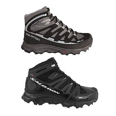 Salomon Synapse Mens Winter Shoes Hiking shoes Hiking boots laces new