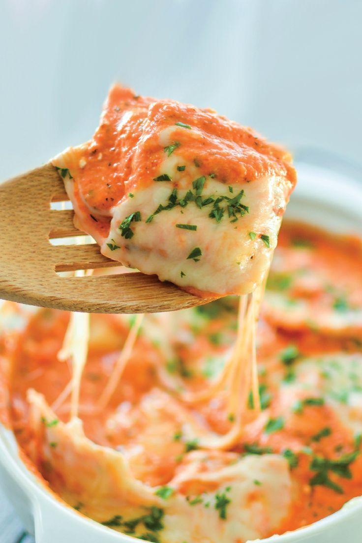 Baked Ravioli with Vodka Sauce is the perfect dish to make at your next get-together with the neighbors. Invite them over for dinner and enjoy every bite of this delicious meal made with the flavorful taste of Finlandia Vodka.