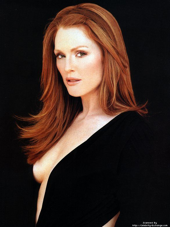 Bombshell. I think Julianne Moore was always beautiful, but the redhead factor just makes her more appealing.