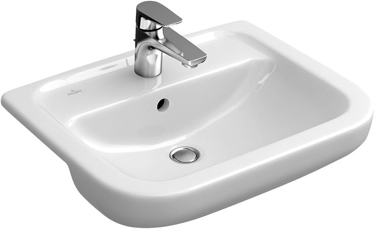 Architectura Washbasins, Semi-recessed washbasin, Semi-recessed washbasins