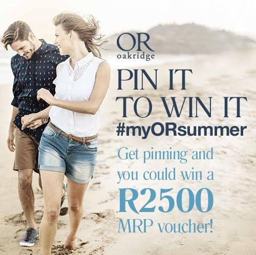 Pin It To Win IT #Oakridge #MrPrice #myORsummer :)