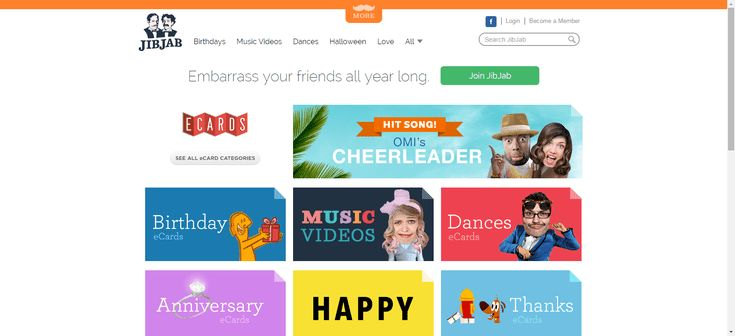 The Top 10 Sites for Free eCards: JibJab