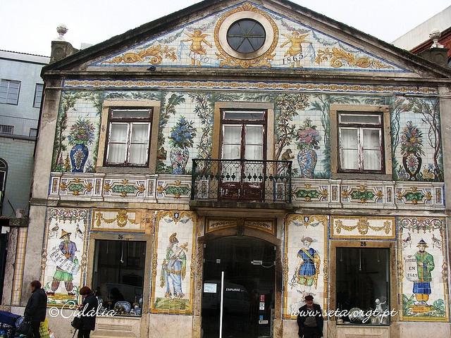 Viúva Lamego Store , Lisbon, Portugal (Tile detail) by vouga, via Flickr