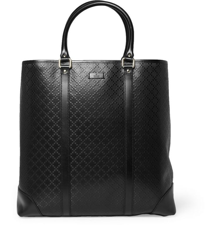 Gucci Textured-Leather Tote Bag | MR PORTER