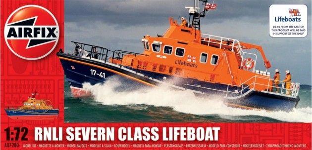 Airfix byggesett 1/72 RNLI Severin Class Lifeboat A07280 | Kjøp leker og hobby på nettet! Bilbaner, lego og radiostyrte biler, droner, båter og helikoptre