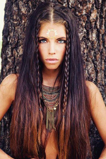 Boho Tribal Statement Necklace 23,90 € #happines… – #Boho #ethnique #happine