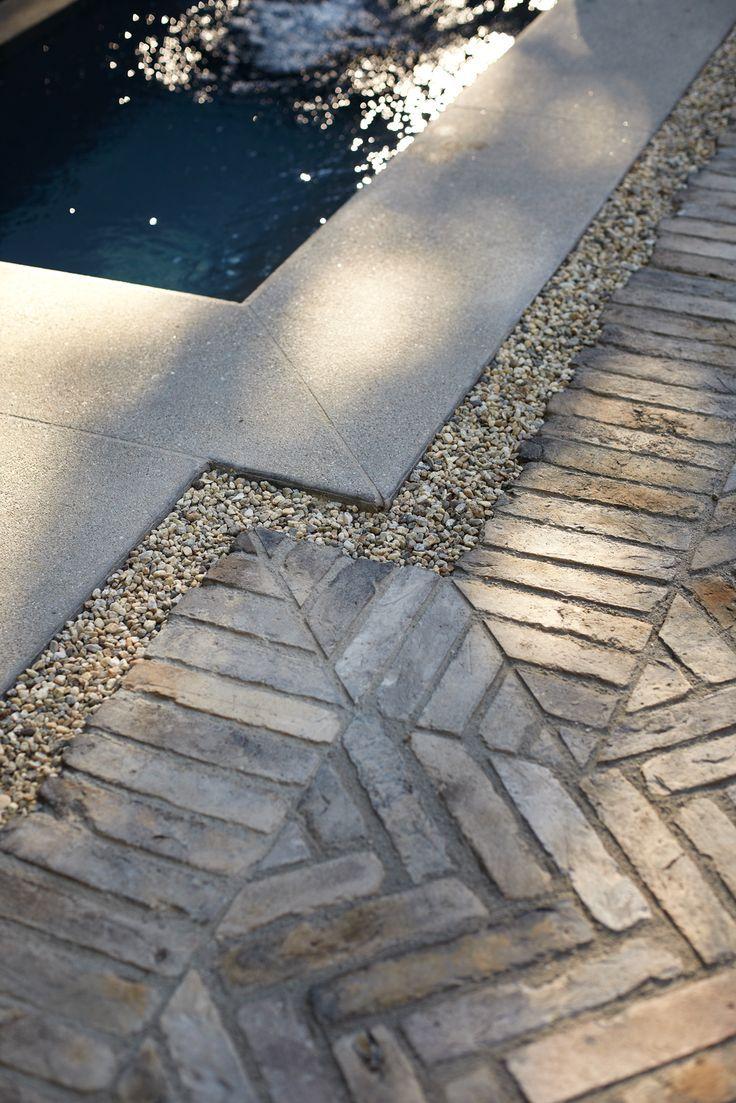 herringbone foor - Sneak Peek: Garden Design Magazine's Aged Elegance: Gardenista