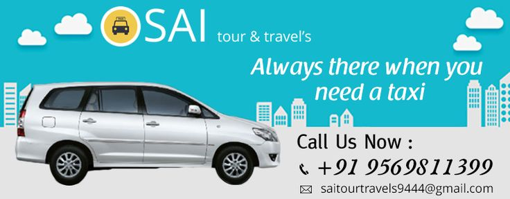 Bring Taxis right to your doorstep with the Sai Tour & Travels. #Chandigarh #Mohali #Panchkula #Taxiservice