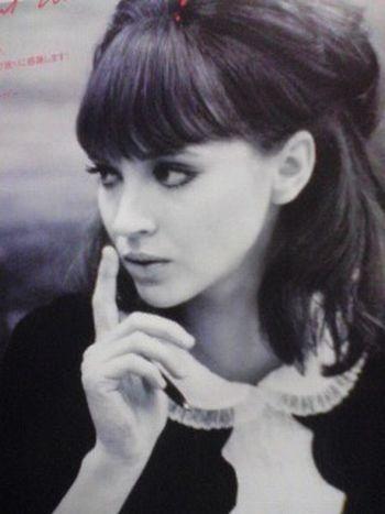 Anna Karina's bangs