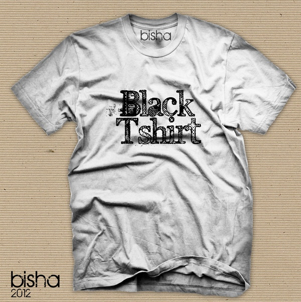 WHITE+BLACK tshirts by giuseppe amato, via Behance