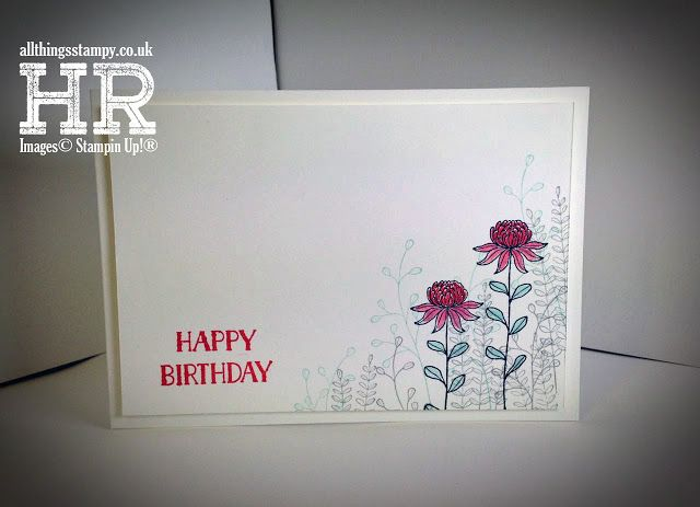 All Things Stampy: Make this with a FREE Sale-a-Bration stamp set, Flowering Fields