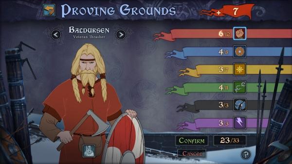 Like the UI design :) The Banner Saga