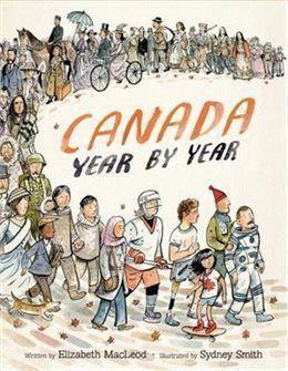 Book Canada Year By Year by Elizabeth MacLeod
