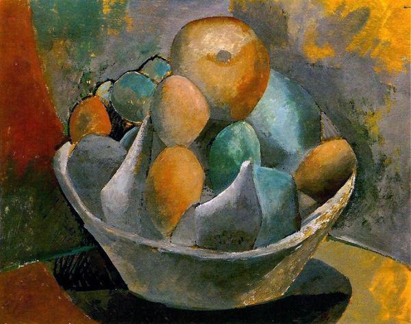 Picasso/Compotier et fruits (1908)