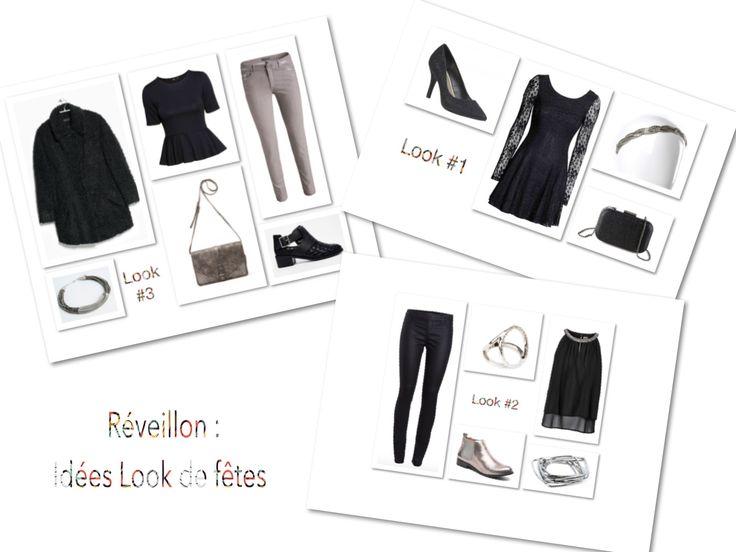 Le blog mode, Mocassin Serre-Tête vous propose 3 looks de fêtes pour vous inspirer afin d'avoir une tenue tendance et intelligente. Idées look de fêtes.