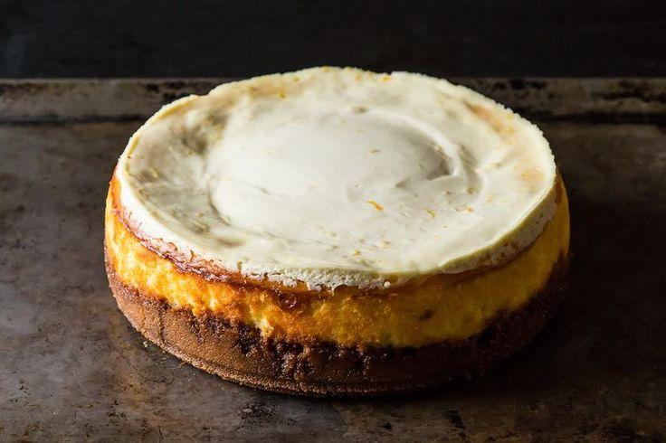 Meyer Lemon Cheesecake with Biscoff Crust recipe on Food52