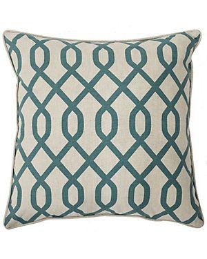 """Airwave"" Decorative Pillow"
