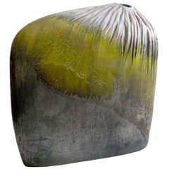 Marcello Fantoni Asymmetrical Ceramic Vase for Raymor c.1950s