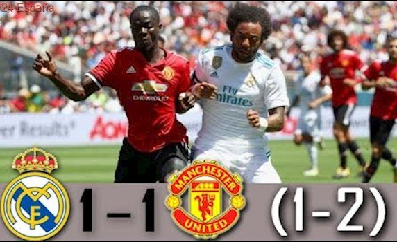 Real Madrid vs Manchester United 1-1 (1-2) Resumen y PENALES Highlights Goals Amistoso 2017