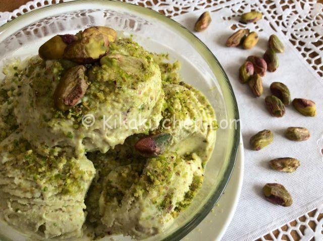 gelato al pistacchio bimby