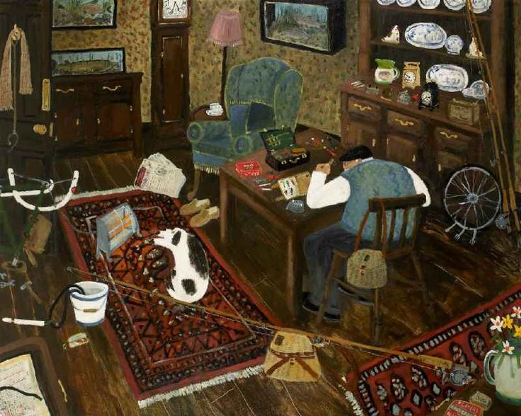 "GARY BUNT ""Follow Me"":  The season starts tomorrow So I'm servicing my bike Tonight I'll dream of roach and bream Rainbow trout and pike"