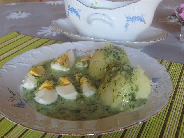 Domowa kuchnia Aniki: Sos koperkowy