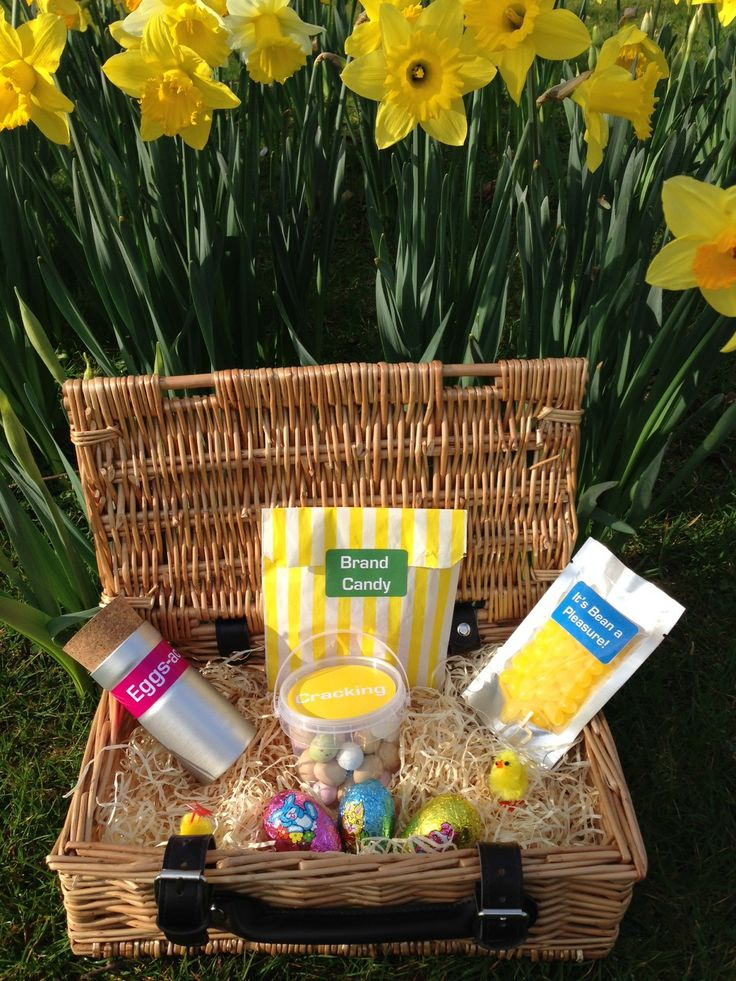 62 best easter promotional gifts images on pinterest favours a great hamper gift of chocolate treats for easter negle Images