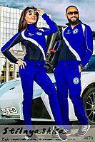 Спортивный костюм мужской и женский Челси индиго 4876