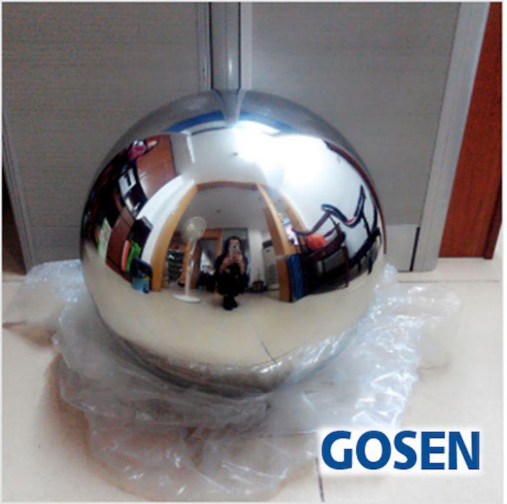 50 STÜCKE 120 MM Edelstahl Hohlkugel Spiegel Poliert Glänzenden Kugel Für Garten Ornament Kostenloser Versand